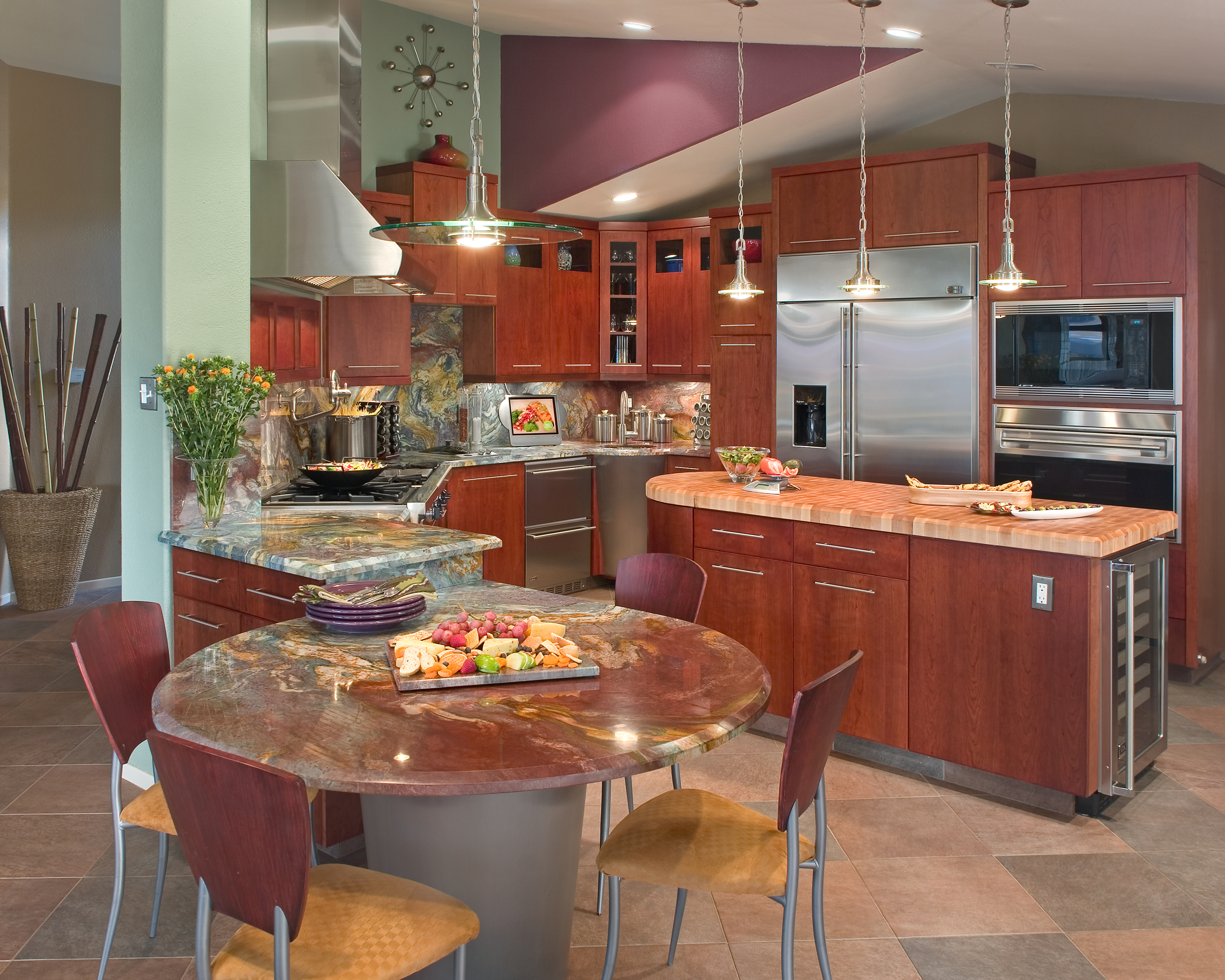 Custom Gourmet Kitchen Design J P Walters Design Associates